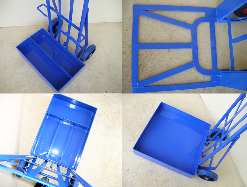 Custom Trolley Hand-Truck Toeplates Shoes