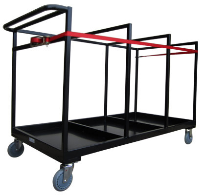 Custom Events & Functions Folding Chair Trolley