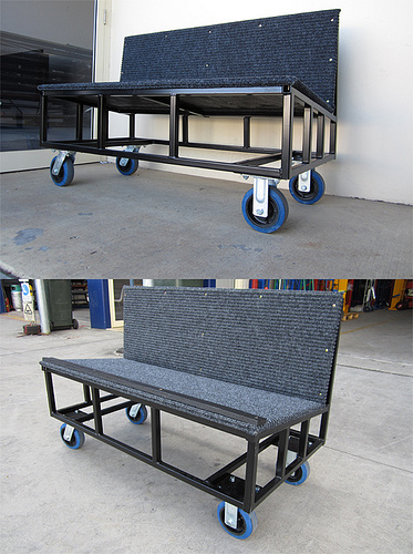Custom Functions Folding Table Trolley
