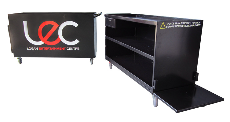 Custom Events & Functions Food Vending Trolley