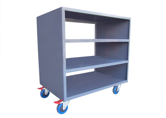 Custom Four Tier Storage Trolley