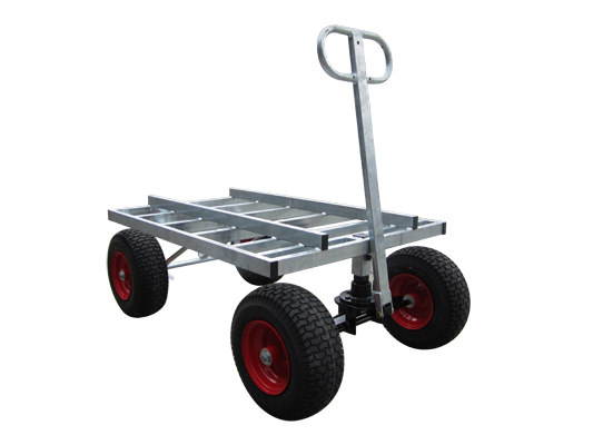 Custom Galvanised Heavy Duty Tank Trolley