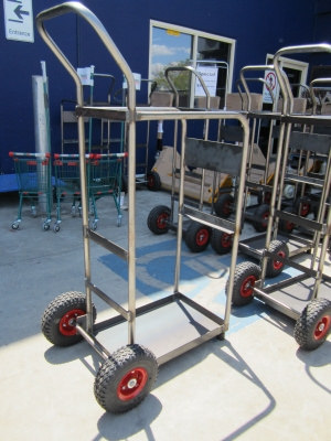 Custom Industrial Pump Trolley