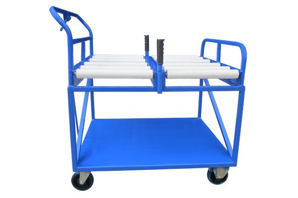 Custom Transfer Table Package Loading Trolley
