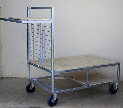 Custom Picking Trolley Wood
