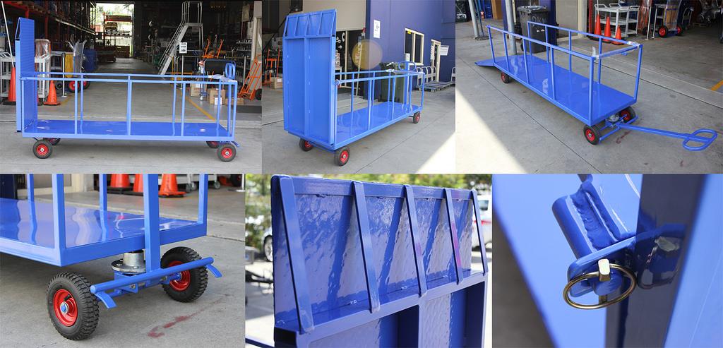 Custom Wheelie Bin Trolley