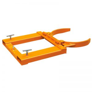 DG1 Forks Mounted Automatic Drum Clamp Grab