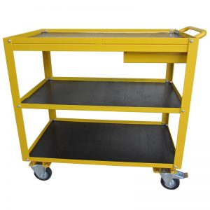 MC200DR Traymobile Yellow 3Tier with Drawer