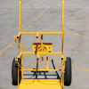 CT26 Double G Size Gas Bottle Cylinder Trolley - Front with Arm UP (2)