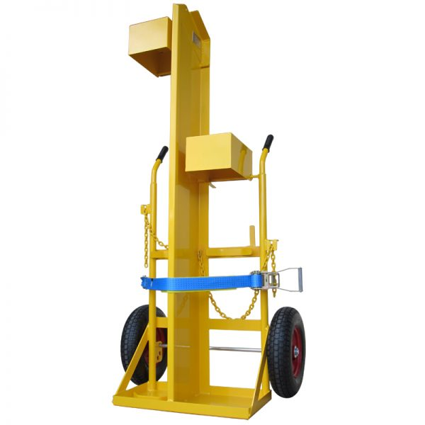 CT400 | Craneable Oxy Acetylene Gas Bottle Cylinder Trolley