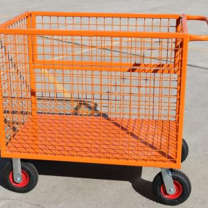 MT301DG Custom Drop Gate Cage Trolley Cart