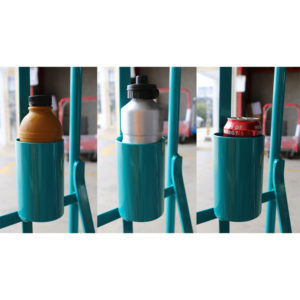 Drink Holder - Suit most common drink bottle sizes - Disclaimer: Don't drink and drive... your trolley!