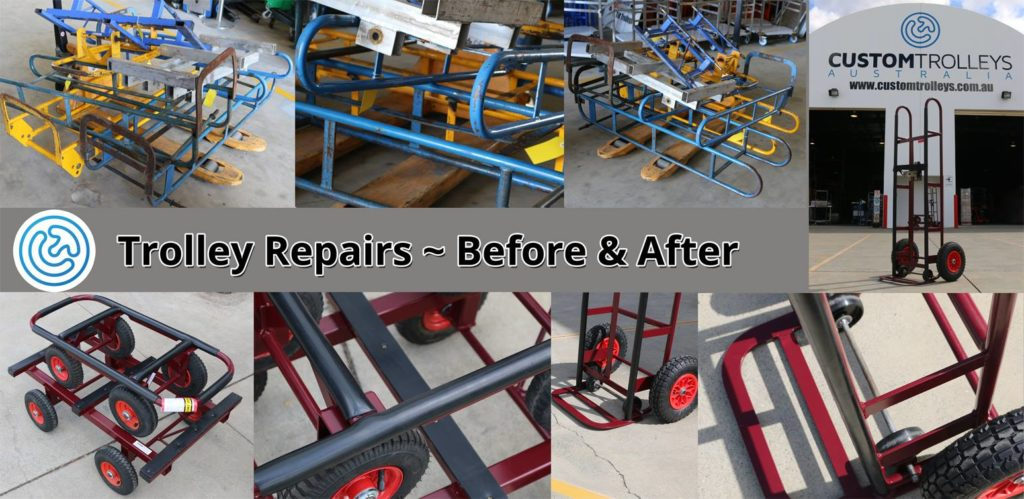 Hand Truck & Trolley Repairs with EzyGal