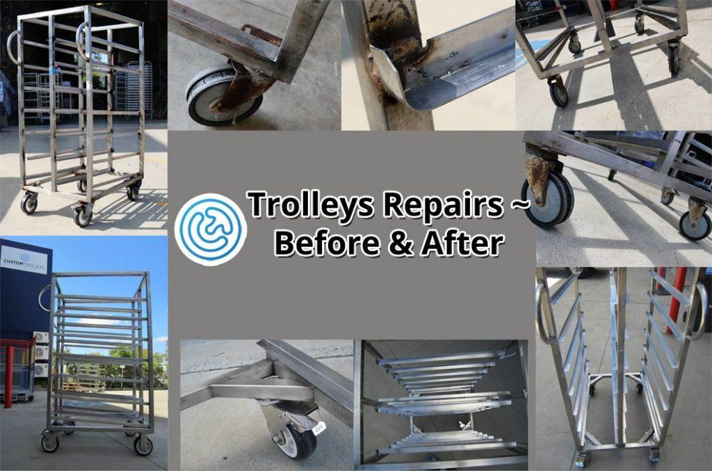 Aluminium Food Trolley Repairs & Servicing