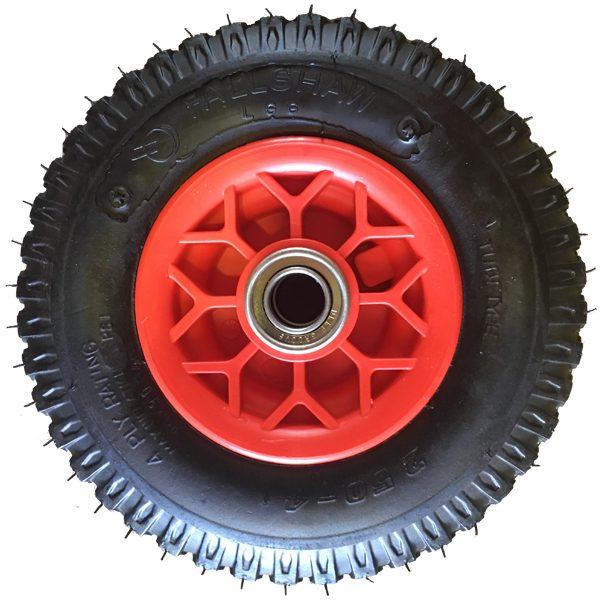 Dash-3PW 220mm Polypropylene Rim Pneumatic Wheels 250X4