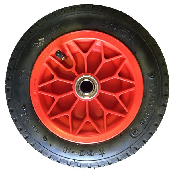Dash-5PW 275mm Polypropylene Rim Pneumatic Wheels 250X6