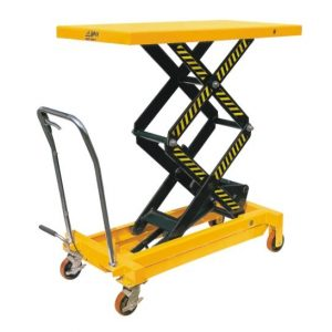 BS75D Manual Hydraulic DOUBLE Scissor Lift Table