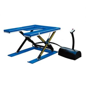 E-Shape Low-Profile Electric Hydraulic-Scissor Lift Table 2000kg