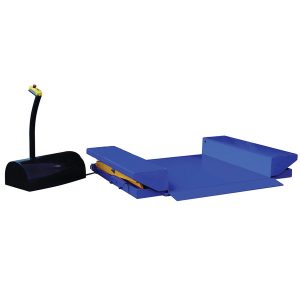 LP Series Zero Level Scissor Lift Table - PLATFORM DOWN