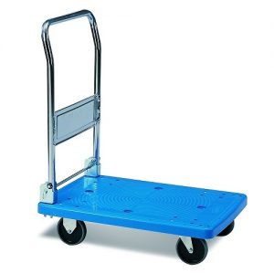MC301A 300kg Plastic Platform Flatdeck Trolley