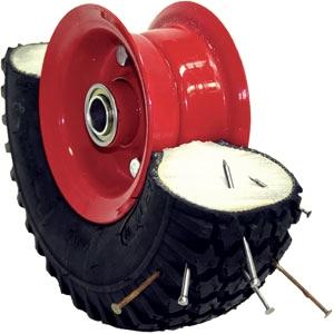 Flat-Free Puncture-Proof Foam Filled Pneumatic Wheels Tubeless Tyre