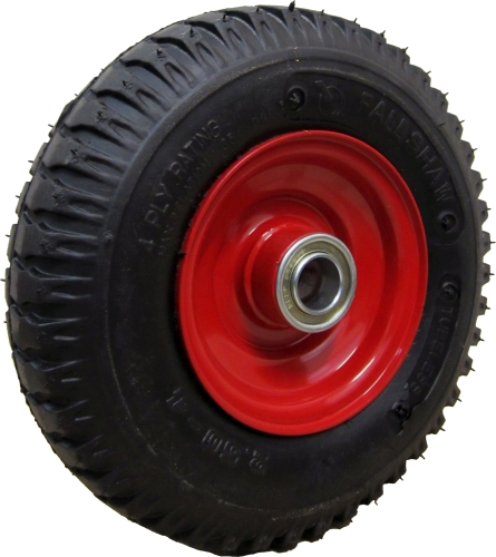 220mm Steel Rim Pneumatic Wheel PSLUG250X4F20 250x4 (Dash 3)