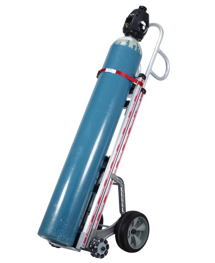 Bottle Gas Lift : Aluminium lift assist gas cylinder bottle trolley