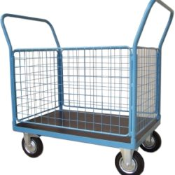 Cage, Box Carts, Bin & Basket Trolleys