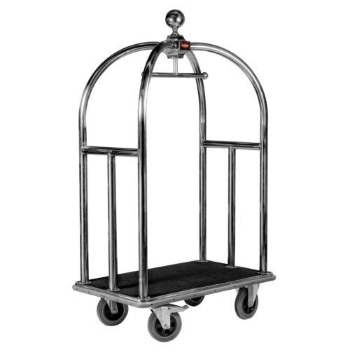 Premium Luggage Bellboy Bellhop Trolley - Hotel Guest Services Cart