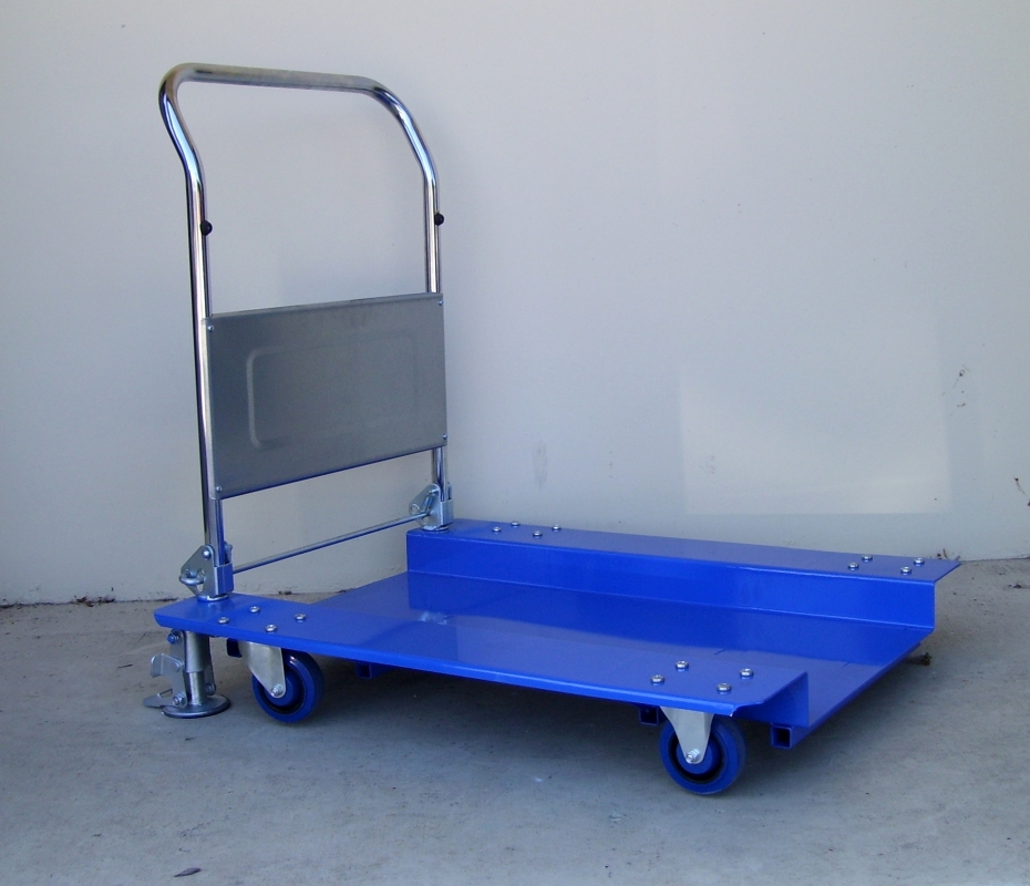 Custom Drop-Deck Platform Trolley