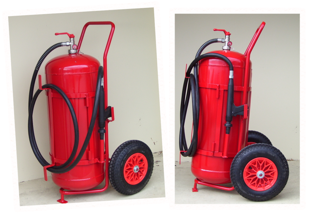 Custom Fire Fighting / Extinguisher Trolley