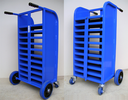 Custom Laptop Storage Trolley