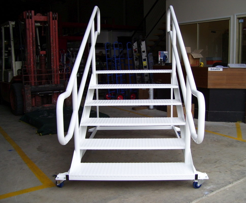 Custom Mobile Stage Staircase 2010