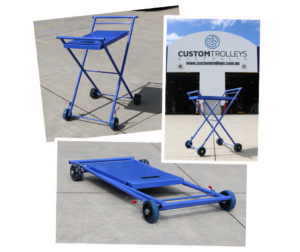 Custom Roadside Assistance Mechanic's Trolley Rotorcasters