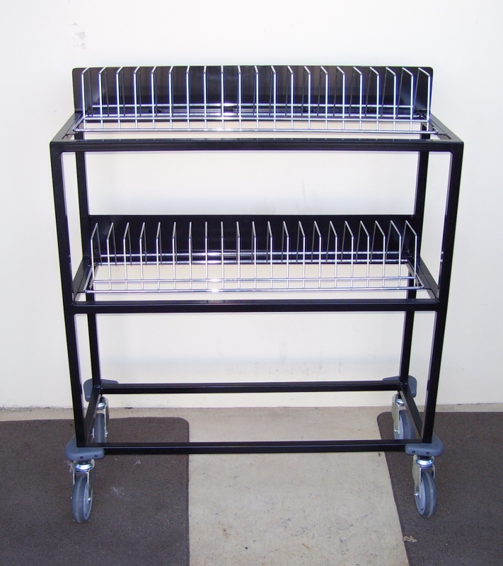 Custom Toaster Rack Wirework Office Trolley