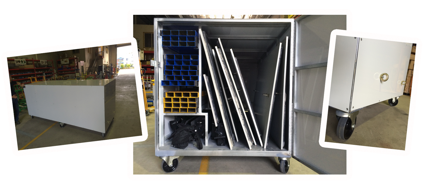 Custom Locking Sports Equipment Cabinet 2014