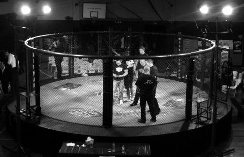 Custom Rize MMA Circular Fight Cage Unigon