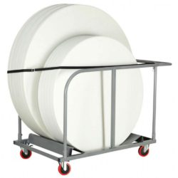 Round Table Circular Moving Trolley for Function Rooms and Events