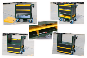 Custom Coin Transfer Trolley with Ramp