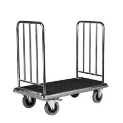 Hotel Luggage Baggage Suitcase Cart - Platform style Trolley