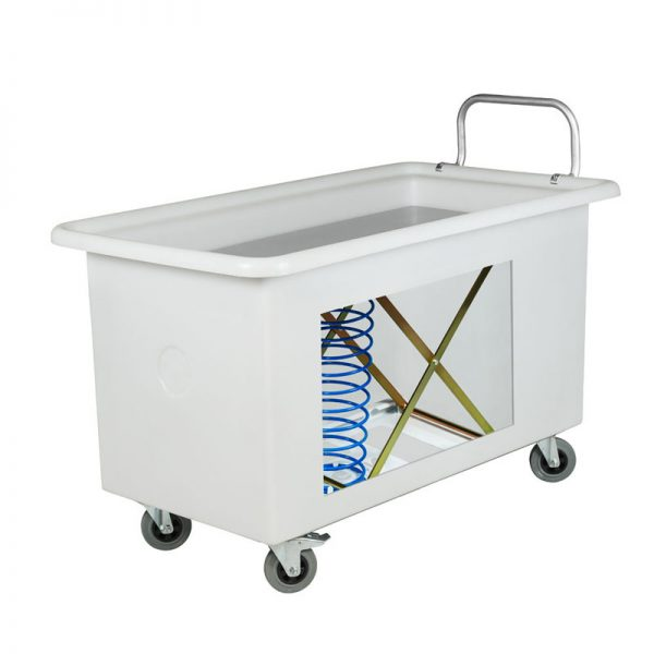 Mobile Laundry Tub Food-grade Plastic Polyethylene with Handle