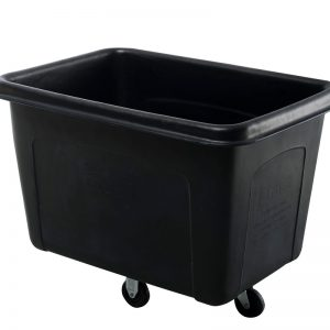 Mobile-Tub Bin-Cart Warehouse Plastic Tub / Bin-on-Wheels Cart