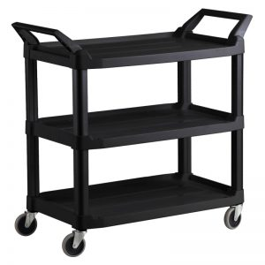 Plastic Food Grade Serving Cart Trolley