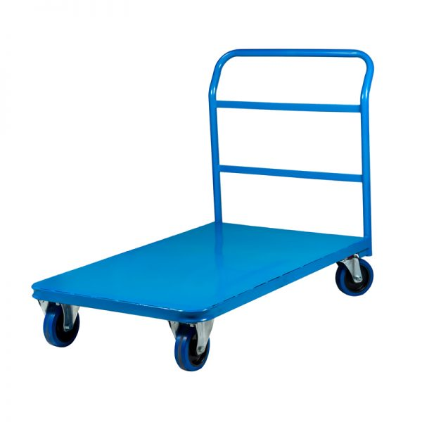 Warehouse Self-Storage Platform Flatdeck Flatbed Trolley