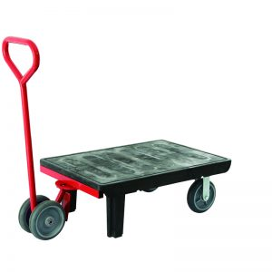 Warehouse Skid Platform Trolley / Pull-Along Wagon Cart