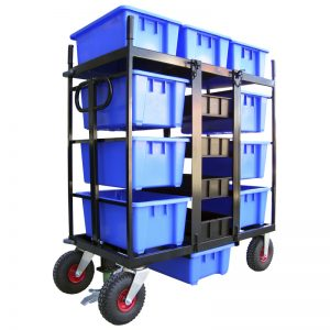 Custom Offroad Sound and Lighting Equipment Trolley