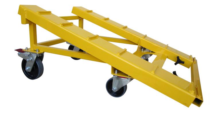 Custom Stair Lead-In Ramp