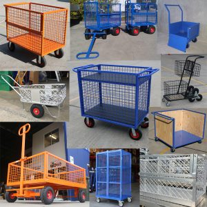 Custom Built Cage Trolleys