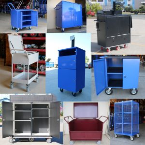 Custom Lockable Cabinet Trolleys