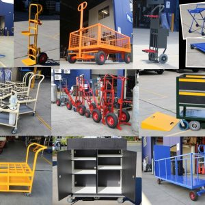 Custom Built Hand Trucks and Trolleys - Custom Projects & Solutions, Brisbane Australia